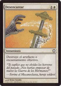 Disenchant Spanish Coldsnap Theme Decks