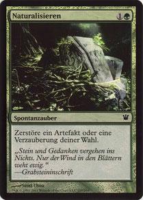 Naturalize German Innistrad foil