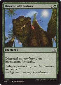 Naturalize Italian Rivals of Ixalan.