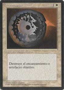 Disenchant Spanish Fourth Edition Black Border
