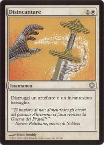 Disenchant Italian Coldsnap Theme Decks
