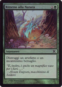 Naturalize Italian Tenth Edition foil