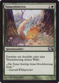Naturalize German Magic 2011 sample decks