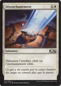 Disenchant French Core Set 2020.