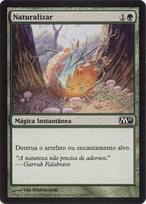 Naturalize Portuguese Magic 2011 sample decks
