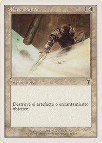 Disenchant Spanish Seventh Edition theme decks