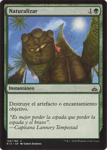 Naturalize Spanish Rivals of Ixalan.