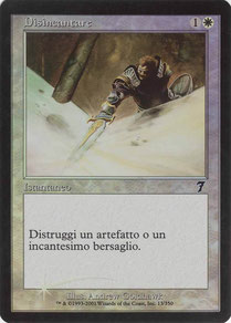Disenchant Italian Seventh Edition foil
