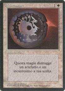 Disenchant Italian Limited