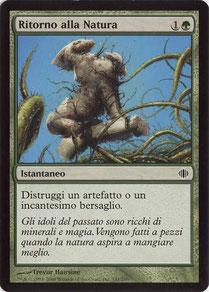 Naturalize Italian Shards of Alara