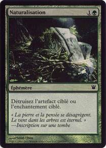 Naturalize French Innistrad foil