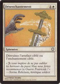 Disenchant French Coldsnap Theme Decks