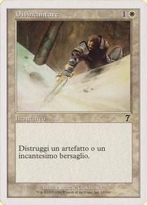 Disenchant Italian Seventh Edition