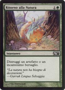 Naturalize Italian Magic 2011 sample decks