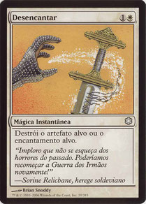 Disenchant Portuguese Coldsnap Theme Decks