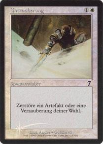 Disenchant German Seventh Edition foil