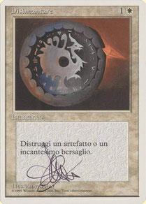 Disenchant Italian Fourth Edition artist proof