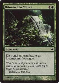 Naturalize Italian Innistrad foil