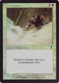 Disenchant Portuguese Seventh Edition foil