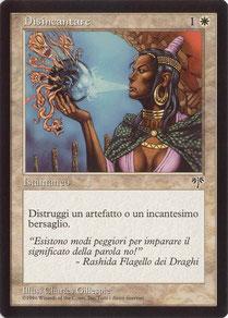 Disenchant Italian Mirage