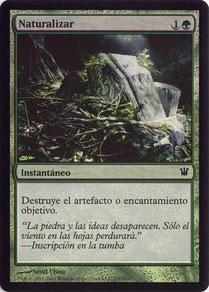 Naturalize Spanish Innistrad foil