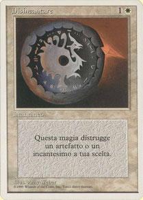 Disenchant Italian Unlimited 1st print run