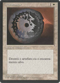 Disenchant Portuguese Fourth Edition Black Border