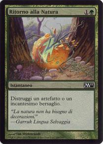 Naturalize Italian Magic 2011 foil