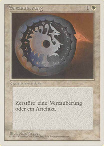 Disenchant German Fourth Edition dot print variant