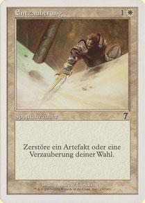 Disenchant German Seventh Edition theme decks