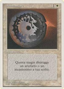 Disenchant Italian Unlimited artist proof