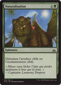 Naturalize French Rivals of Ixalan.