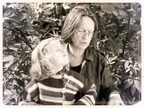 Hilde Berger mit Enkel Ilvy