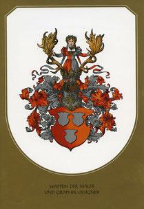 Wappen der Maler und Graphic - Designer