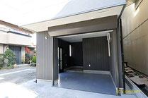 川崎区 オーダー住宅 バイクガレージ車庫