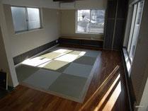 川崎区 オーダー住宅 3階 畳張り ゲストルーム