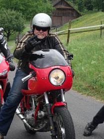 Günther auf Ducati