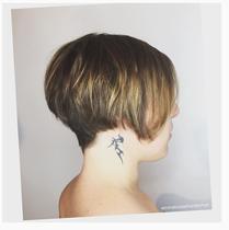 Natural fine hair cut by Sequence Paris Hair Salon