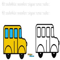 autobús con b bus
