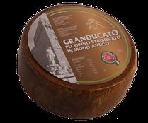 maremma sheep sheep's cheese dairy pecorino caseificio tuscany tuscan spadi follonica block 2700g 1.7kg italian origin milk italy matured aged antique granducato brown
