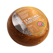 maremma sheep sheep's cheese dairy pecorino caseificio tuscany tuscan spadi follonica block 1200g 1.2kg italian origin milk italy matured aged antique la pecora brown