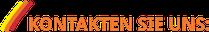 Logo Pflegedienst Silke Stecker mit Text KONTAKTEN SIE UNS