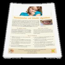 Tipps vom Zahnarzt zur sanften Entwöhnung von Daumen und Schnuller. (© Doc S)