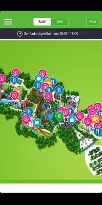 Holiday Park App