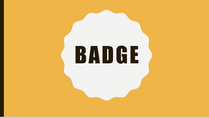 exemple formation powerpoint - badge