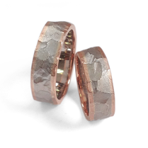 Trauringe facette: 925/- Silber