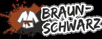Fachsportschule - Gürtel Logo für Braun-Schwarz