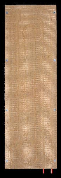 WEM Klimaelement MV - Lehmbauplatte mit Wandheizung für den Lehm-Trockenbau