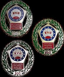 Folge-Abzeichen Bronze-Silber-Gold