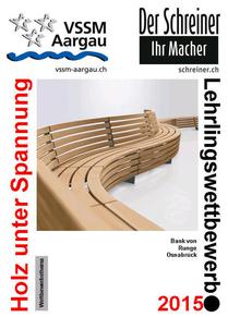 Bild: Schreiner Lehrlingswettbewerb 2015